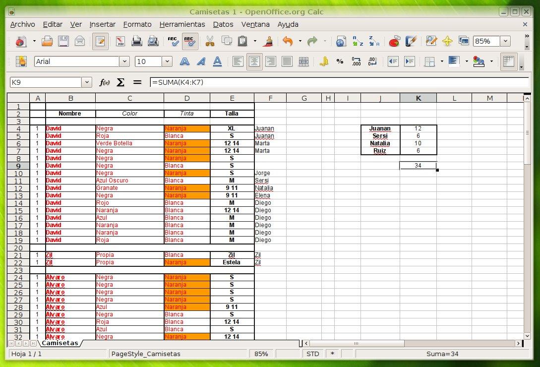 Conocimientos principales pgina 2 karen capataz sirve para realizar clculos tablas con algoritmos diagramas grficas a partir de datos experimentales etc usa el formato ods tambin es compatible ccuart Choice Image